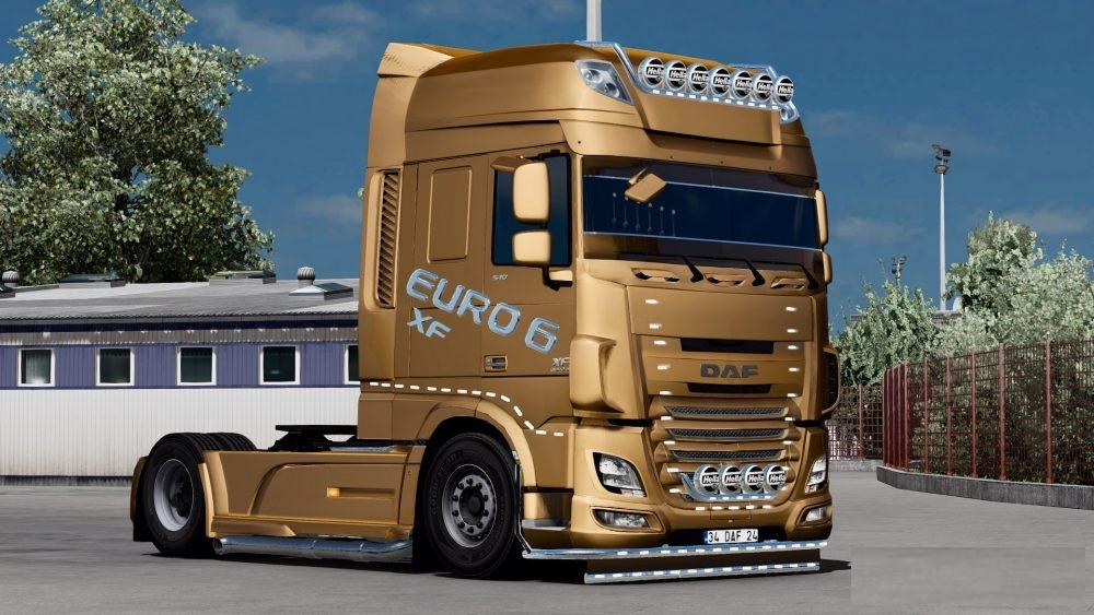 daf xf euro 6 edit truck mod euro truck simulator 2 mods. Black Bedroom Furniture Sets. Home Design Ideas