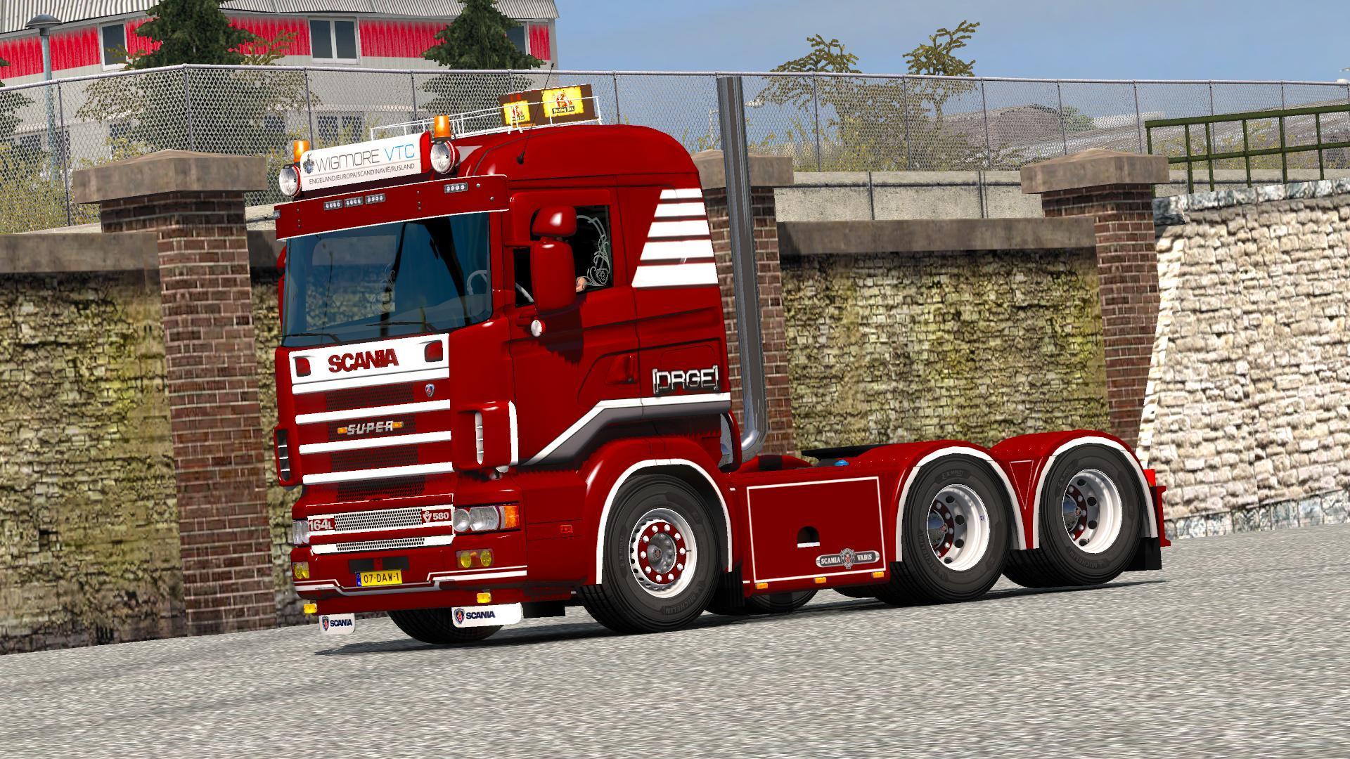 DRGE SKIN AND MOD TRAILERS V1.0 ETS2 -Euro Truck Simulator 2 Mods