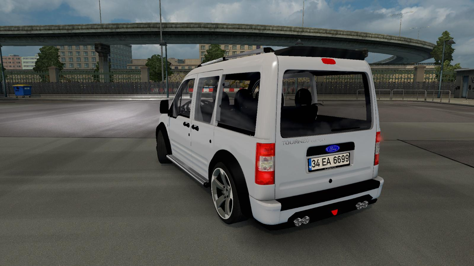 Ford Tourneo Connect V1 0 Car Mod Euro Truck Simulator 2 Mods