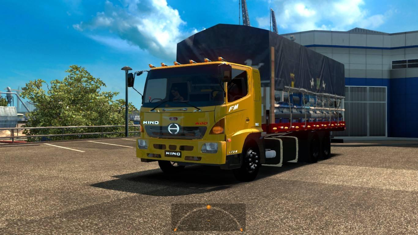 hino 500 truck mod euro truck simulator 2 mods. Black Bedroom Furniture Sets. Home Design Ideas