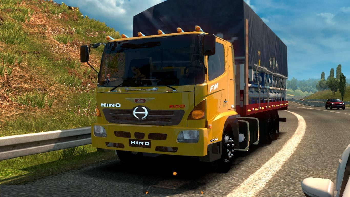 HINO 500 1 28 X TRUCK MOD -Euro Truck Simulator 2 Mods
