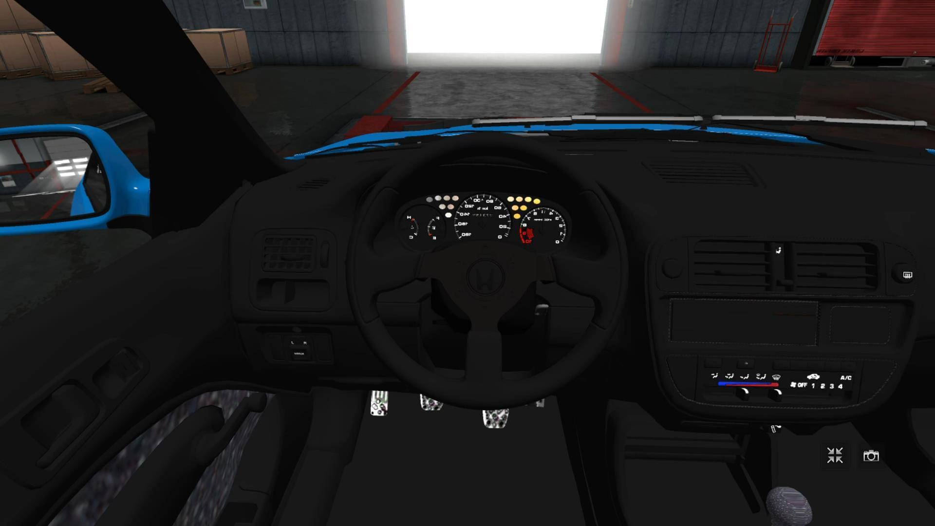 Honda Civic Ek Hatchback >> HONDA CIVIC EK9 HATCHBACK CAR MOD -Euro Truck Simulator 2 Mods