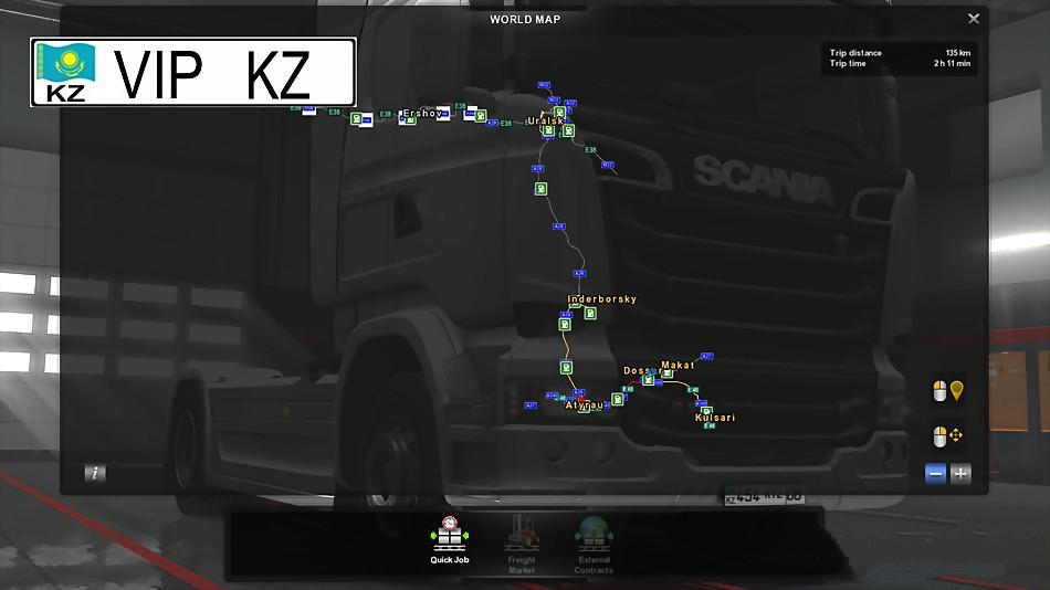 Kazakhstan the great steppe v12 128x map mod euro truck kazakhstan the great steppe v12 128x map mod publicscrutiny Image collections