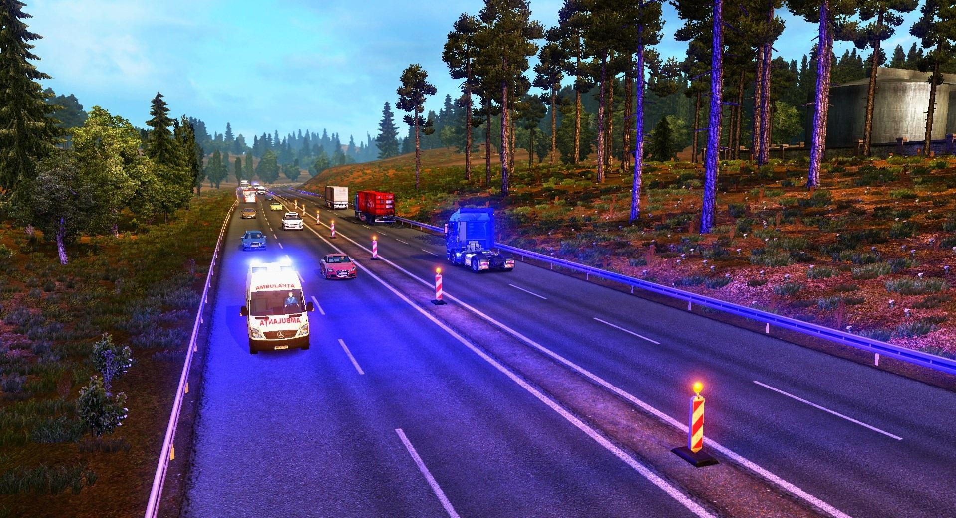 Romanian Map V9 25 1 28 X Map Mod For Ets2 Euro Truck