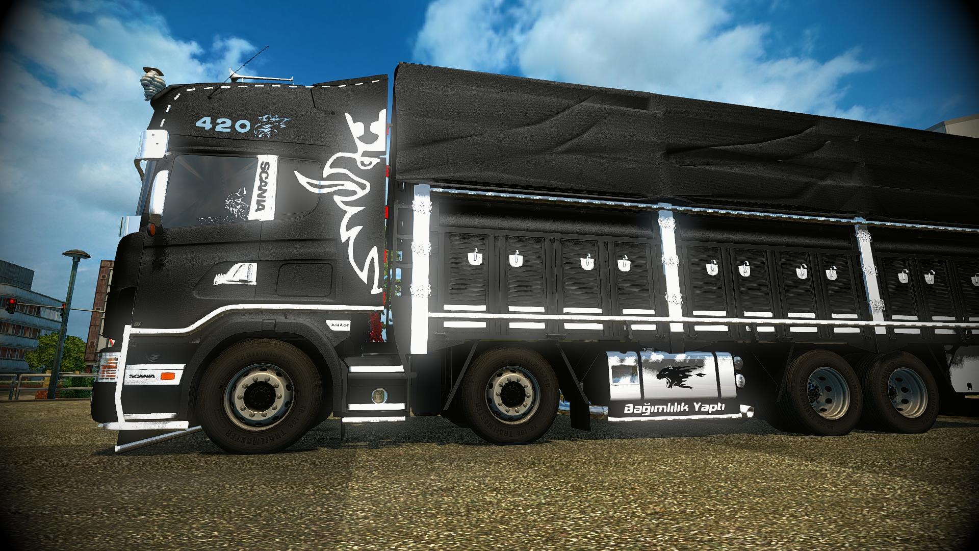 Scania 124l Karadayi V4 0 Truck Mod Euro Truck Simulator