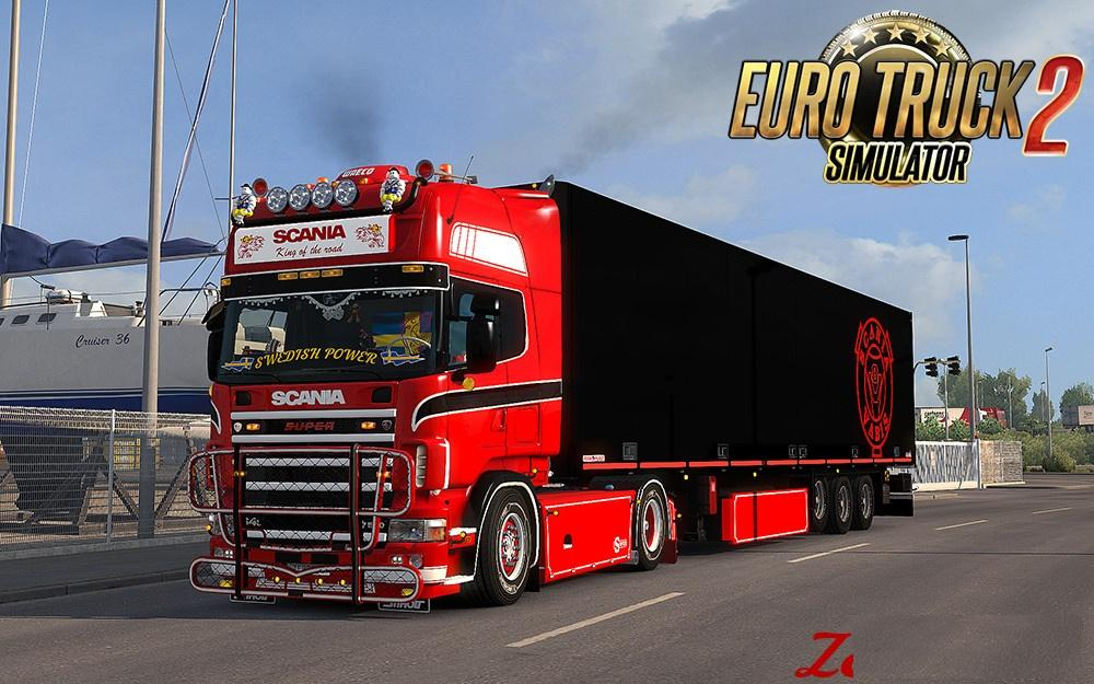 Scania Rs Addons V1 1 4 For Scania 4 Series Rjl Tuning