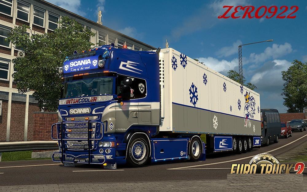Scania Rs Rjl Blue Custom Skin Combo Pack Accessory