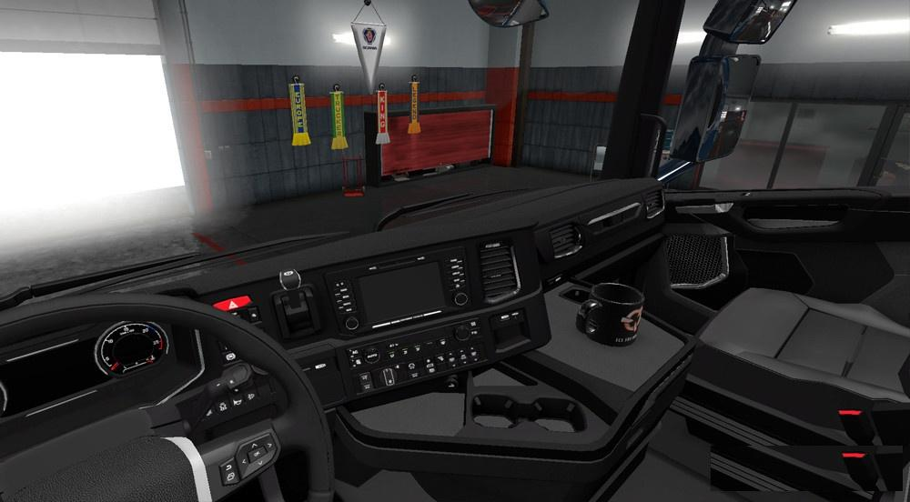 SCANIA S730 ACCESSORY FIX TRUCK MOD -Euro Truck Simulator 2 Mods