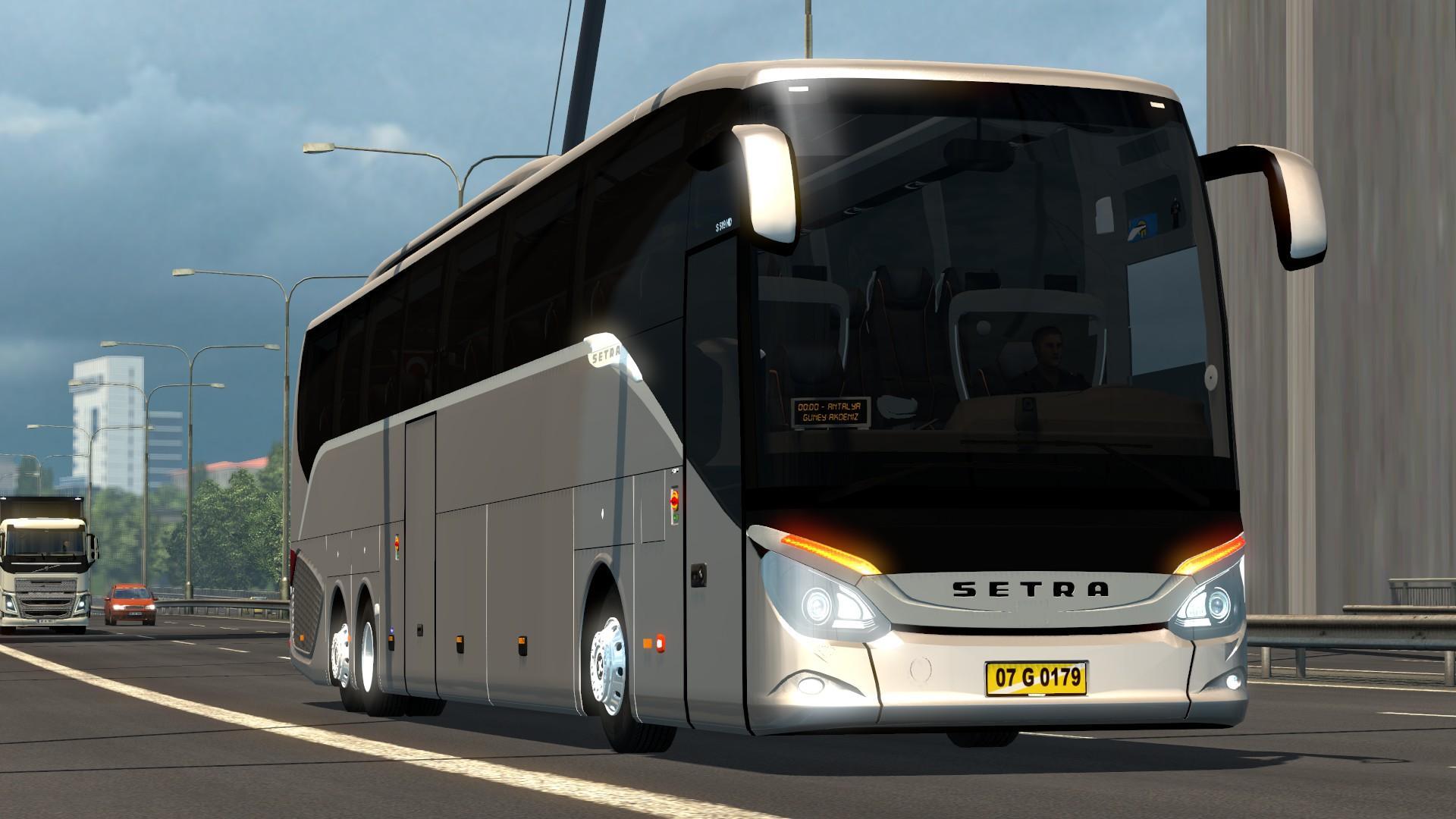 SETRA 519 HDH V3 5 1 28 X BUS MOD -Euro Truck Simulator 2 Mods
