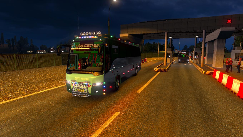 Skin Himsuta For Volvo B9r 1 28 X Ets2 Euro Truck Simulator 2 Mods