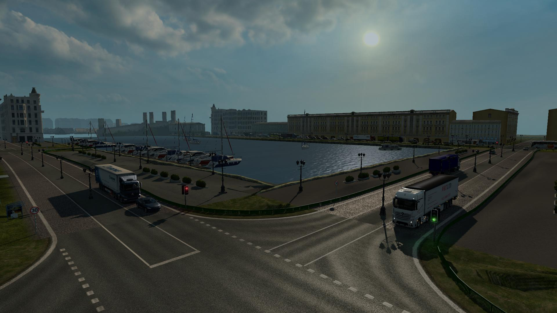 uk republic of ireland map v19 scale v010 128 ets2 map mod
