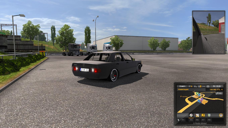 MERCEDES-BENZ W201 [190E] 1.28.X CAR MOD -Euro Truck ...