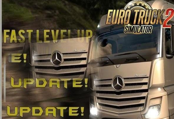 MONEY AND FAST LEVEL UP CHEAT BY JEAN57 MOD -Euro Truck