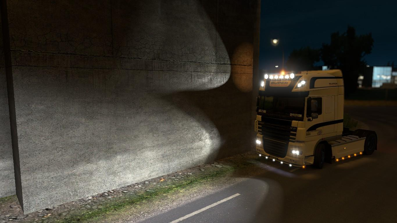 Realistic Vehicle Lights V2 3 1 28 X Mod Euro Truck