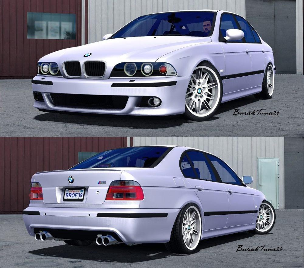 bmw m5 e39 by buraktuna24 update car mod euro truck. Black Bedroom Furniture Sets. Home Design Ideas