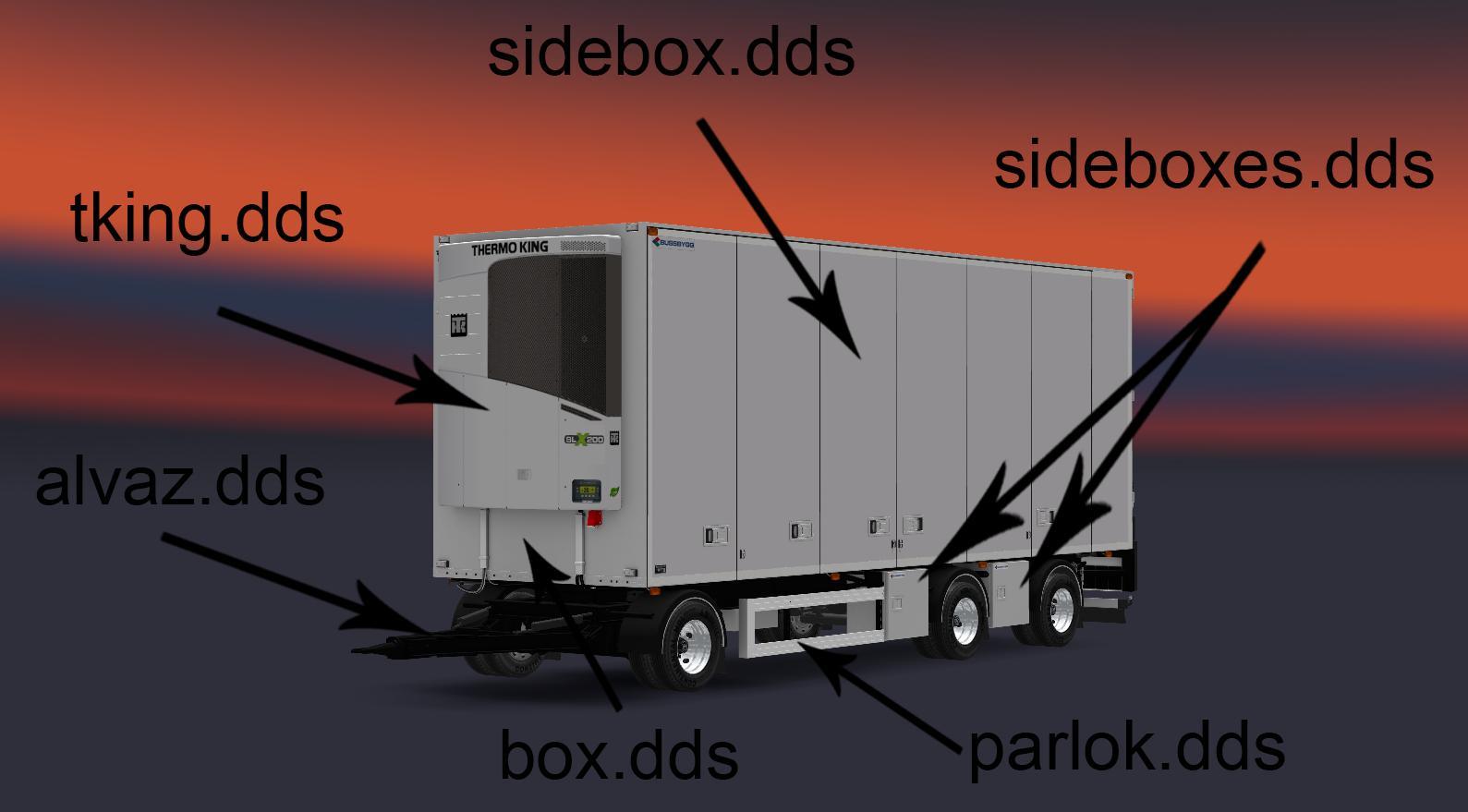 Bussbygg 3 Axle Drawbar Trailer V1 2 1 28 1 30 Ets2 Euro