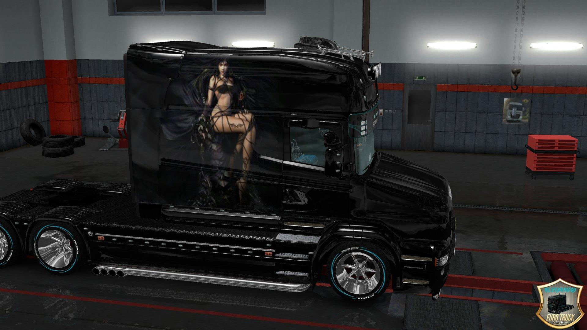 scratched-black-girl-persian-skin-for-volvo-ets2-1
