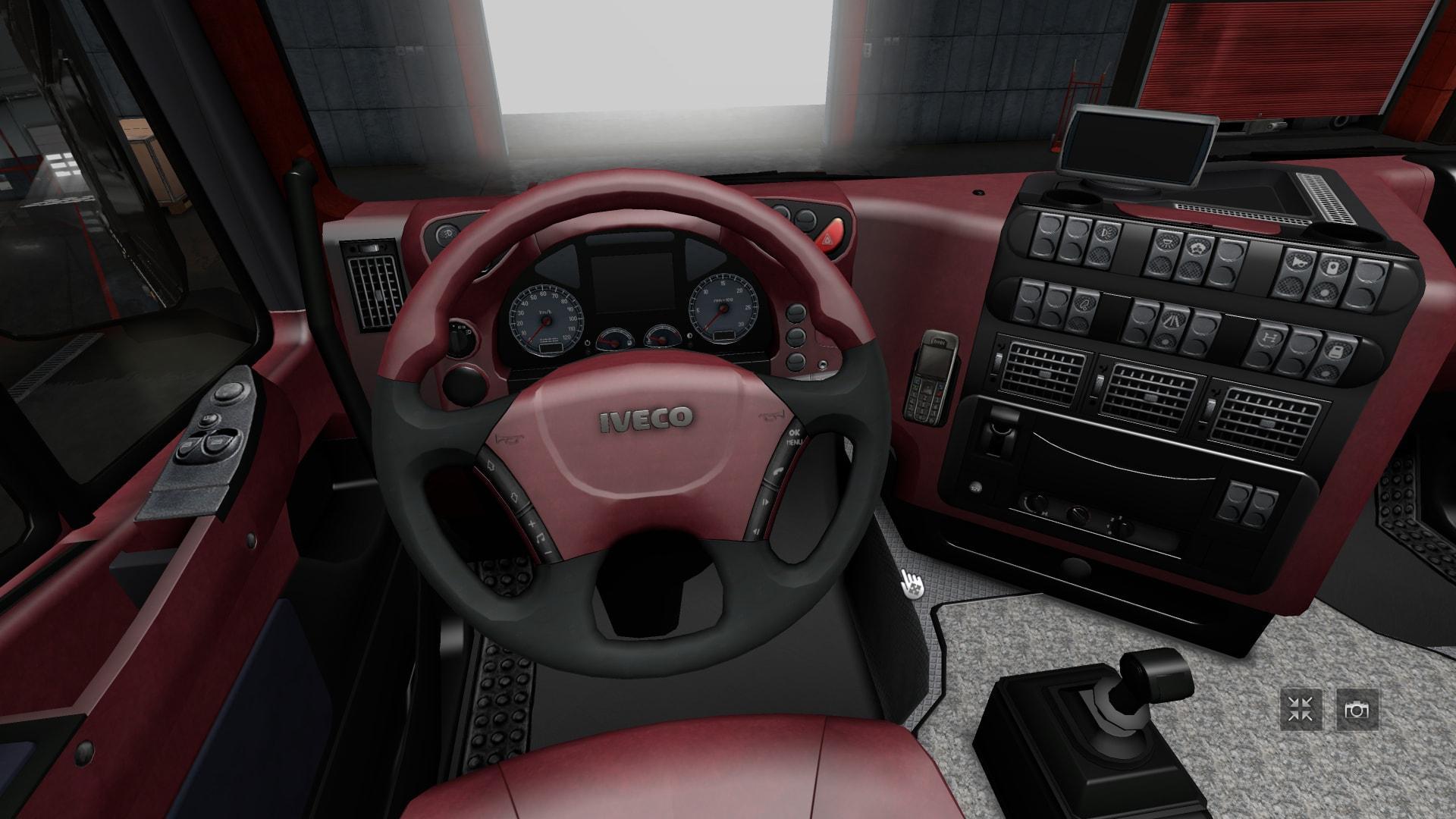 Interiors For Man Tgx And Iveco Stralis V1 Interior Mod