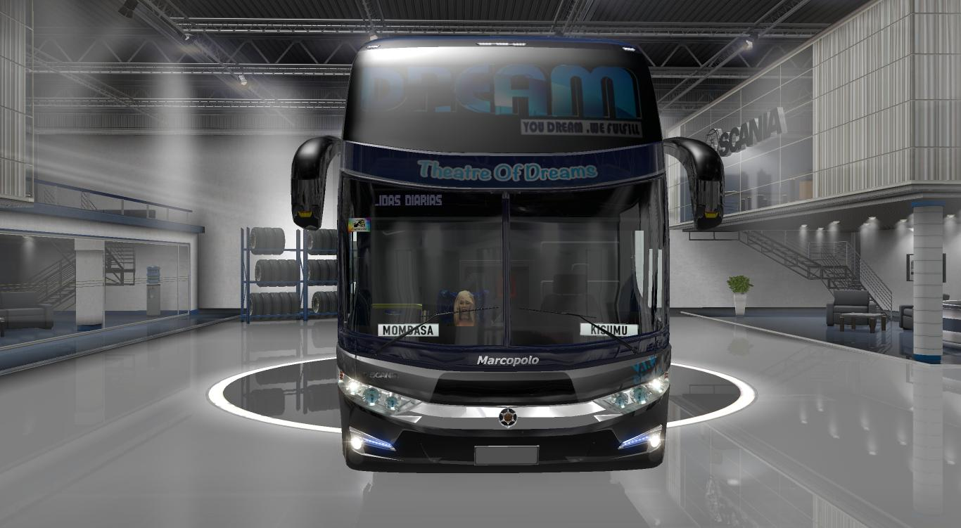 KENYAN G7 1600LD 8X2 1 28 X BUS SKIN -Euro Truck Simulator 2
