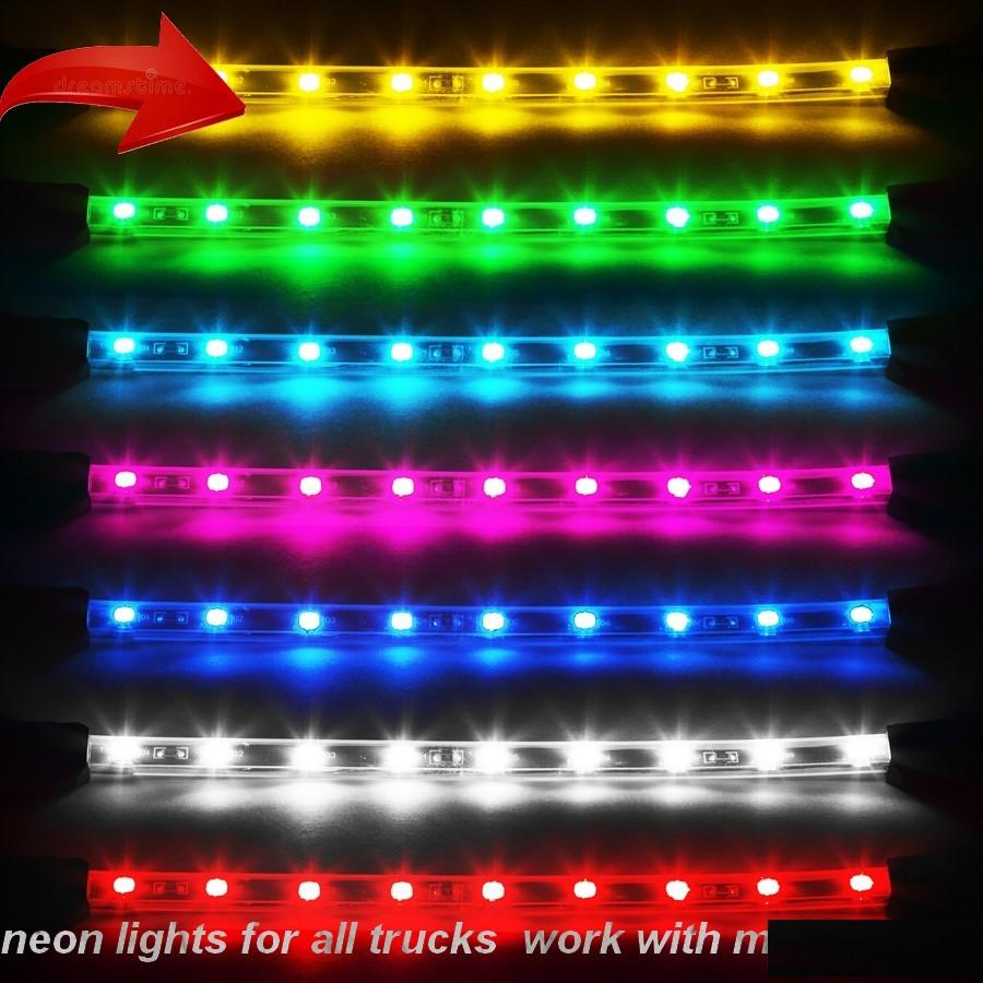 Neon Lights For All Trucks V1 0 Tuning Mod Euro Truck Simulator 2 Mods