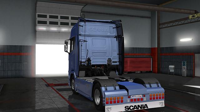 Rear Bumper Scania Next Gen V1 0 Tuning Mod Euro Truck