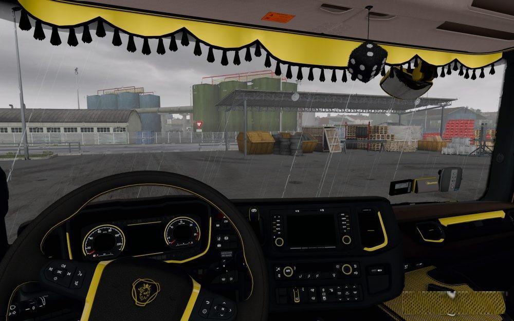 scania 2016 s r cmi interior ets2 euro truck simulator 2 mods. Black Bedroom Furniture Sets. Home Design Ideas