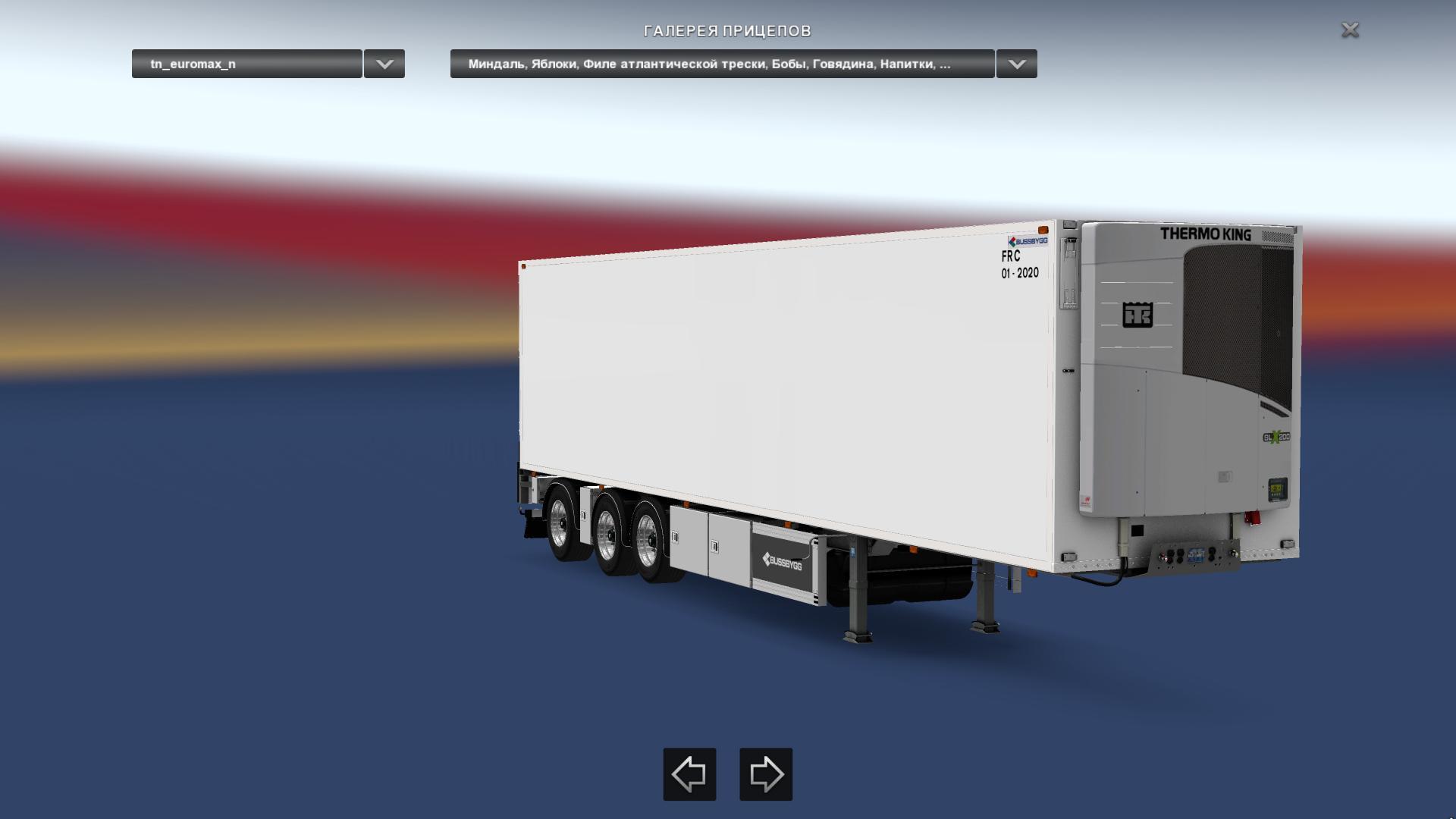 TRAILER EUROMAX NORDIC 1.28-1.30 TRAILER MOD -Euro Truck ...