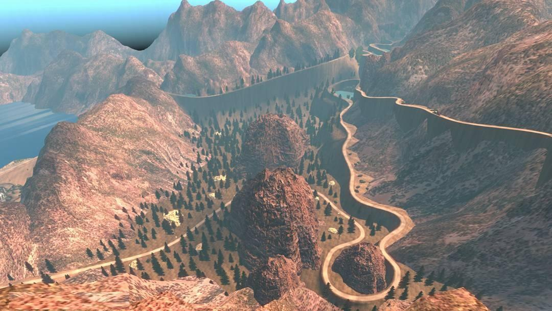 FS17 MOUNTAIN ROADS PART 2 129 Map