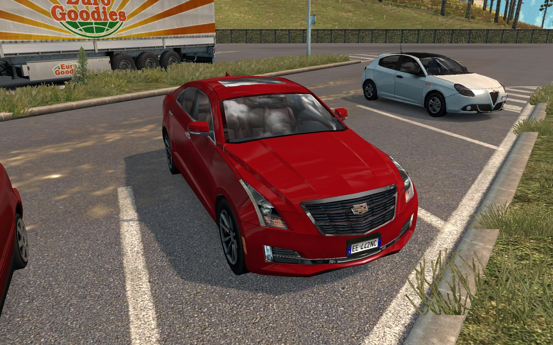 AI TRAFFIC CARS FROM ATS 1.30 MOD -Euro Truck Simulator 2 Mods