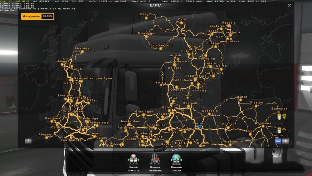 Best Final Save Ets2 1 30 Mod Euro Truck Simulator 2 Mods