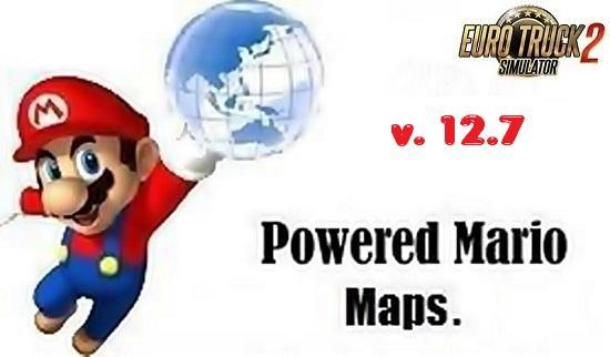 Mario map v127 map mod euro truck simulator 2 mods mario map v127 map mod publicscrutiny Image collections