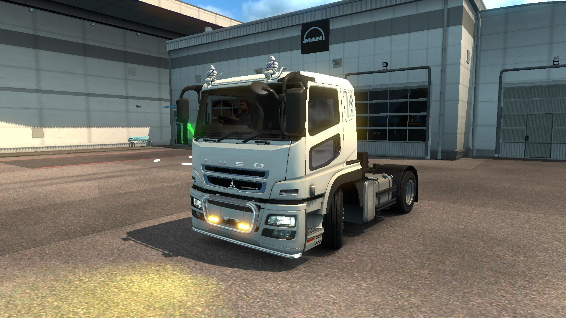 MITSUBISHI FUSO SUPER GREAT BETA 1 3 TRUCK MOD -Euro Truck Simulator