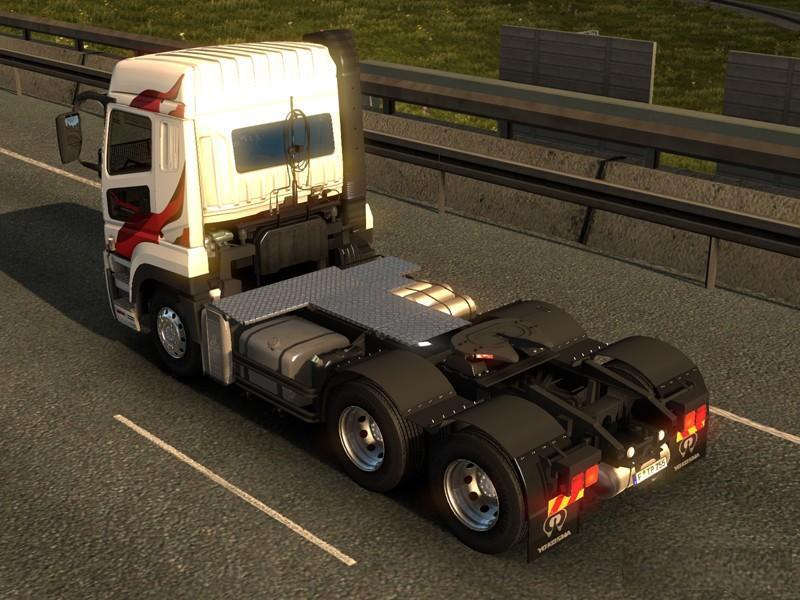 MITSUBISHI FUSO SUPER GREAT V1 2 BETA TRUCK MOD -Euro Truck