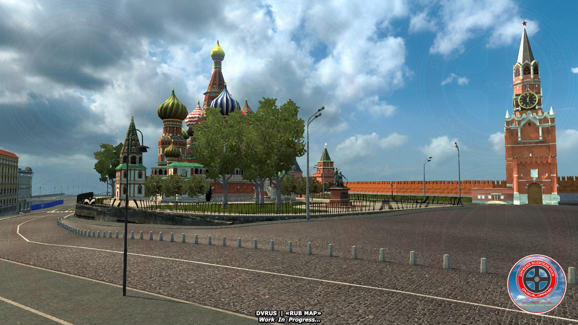 Moscow In Russia Map 1 30 Mod Euro Truck Simulator 2 Mods