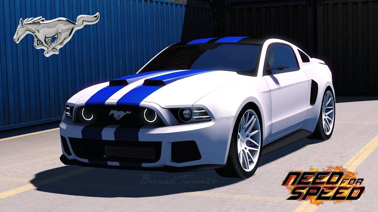 need for speed ford mustang car mod euro truck simulator 2 mods. Black Bedroom Furniture Sets. Home Design Ideas