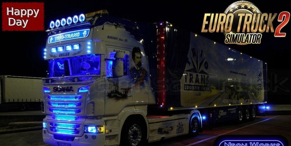 SARANTOS SCANIA R999 for ETS 2 - Euro Truck Simulator 2 Mods
