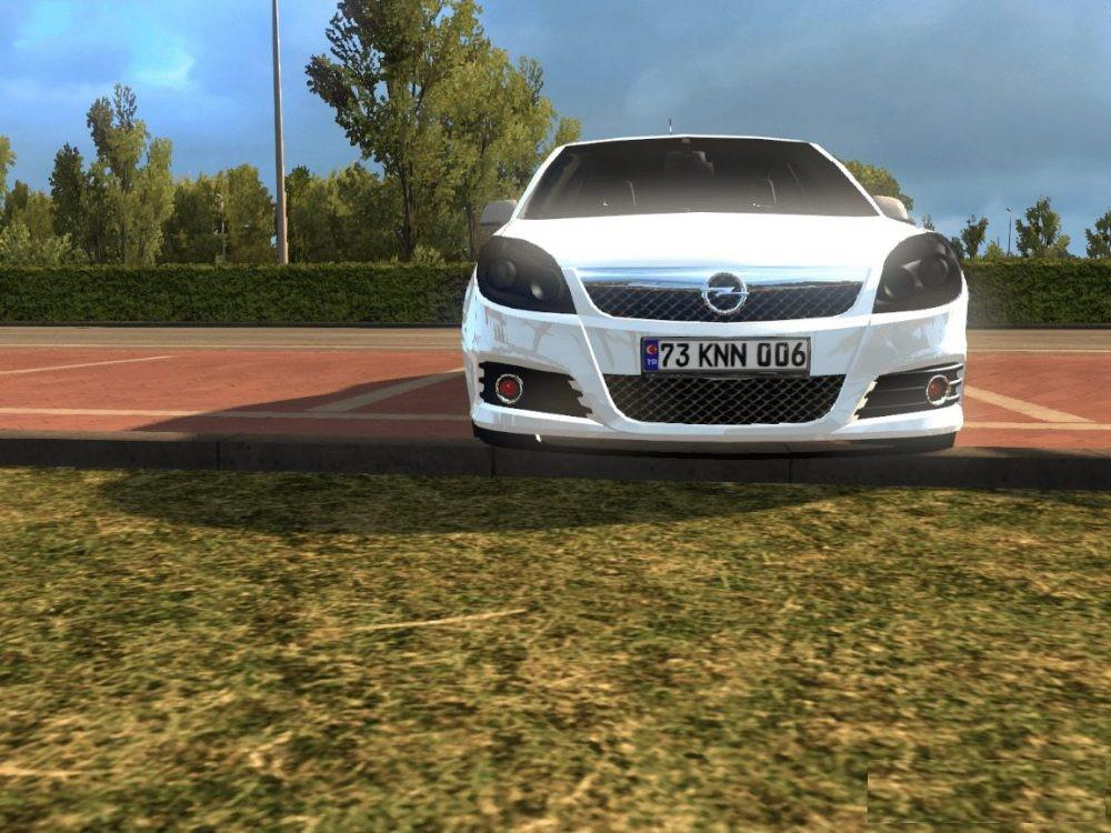 OPEL VECTRA 1 30 CAR MOD -Euro Truck Simulator 2 Mods