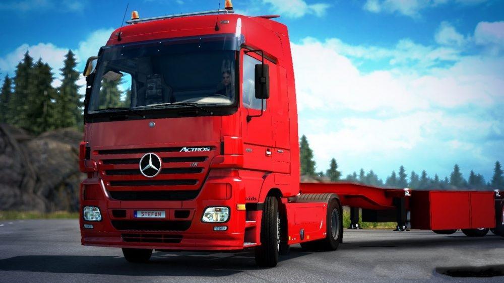 PNEUMATIC SEAT V40 MOD Euro Truck Simulator 2 Mods