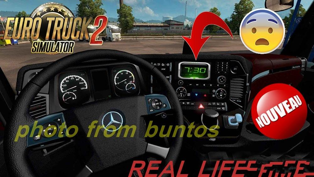 REAL LIFE TIME V1 0 MOD -Euro Truck Simulator 2 Mods