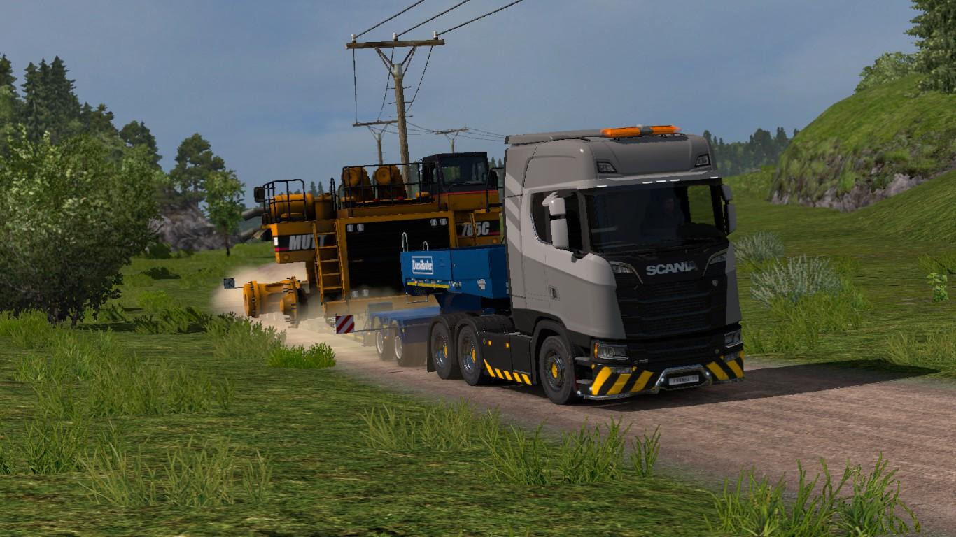 REALISTIC GRAPHICS MOD V2 0 2 1 30 FOR ETS2 -Euro Truck