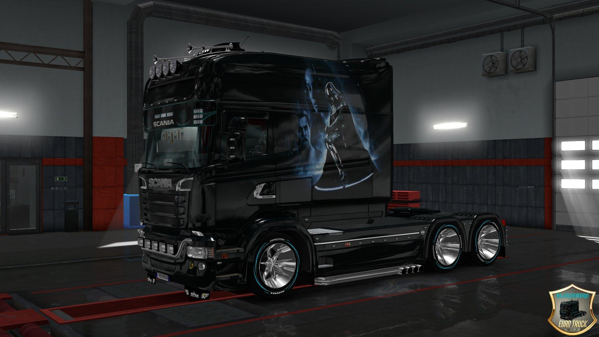 Parts For Cars >> SCANIA RS LONGLINE & SCANIA T LONGLINE STAR WARS TRUCK ...