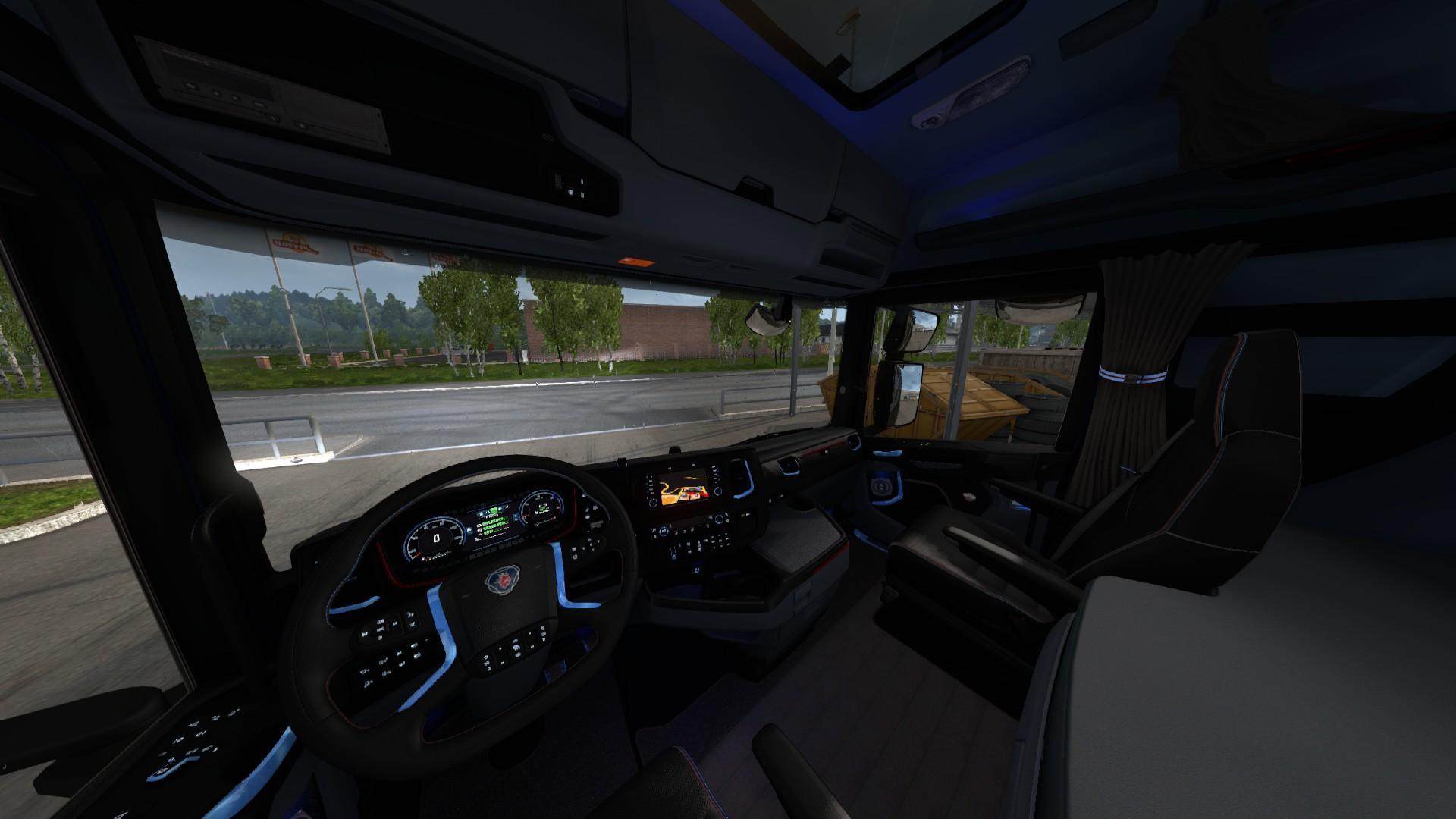Volvo Truck Parts >> SCANIA S 2016 INTERIOR (REDBLUE) 1.30 ETS2 -Euro Truck Simulator 2 Mods