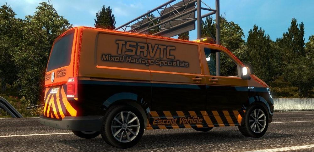 Tsrvtc Special Transport Van V1 0 Mod Euro Truck