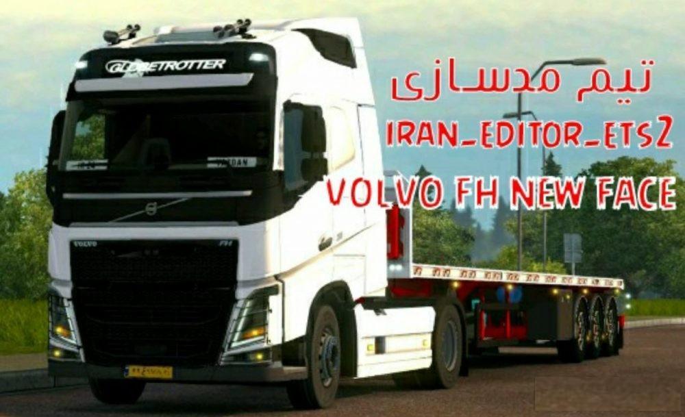 VOLVO FH NEW FACE IRANI BY IRAN EDITOR TUNING MOD -Euro