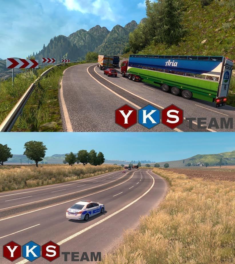 Mod map france euro truck simulator 2