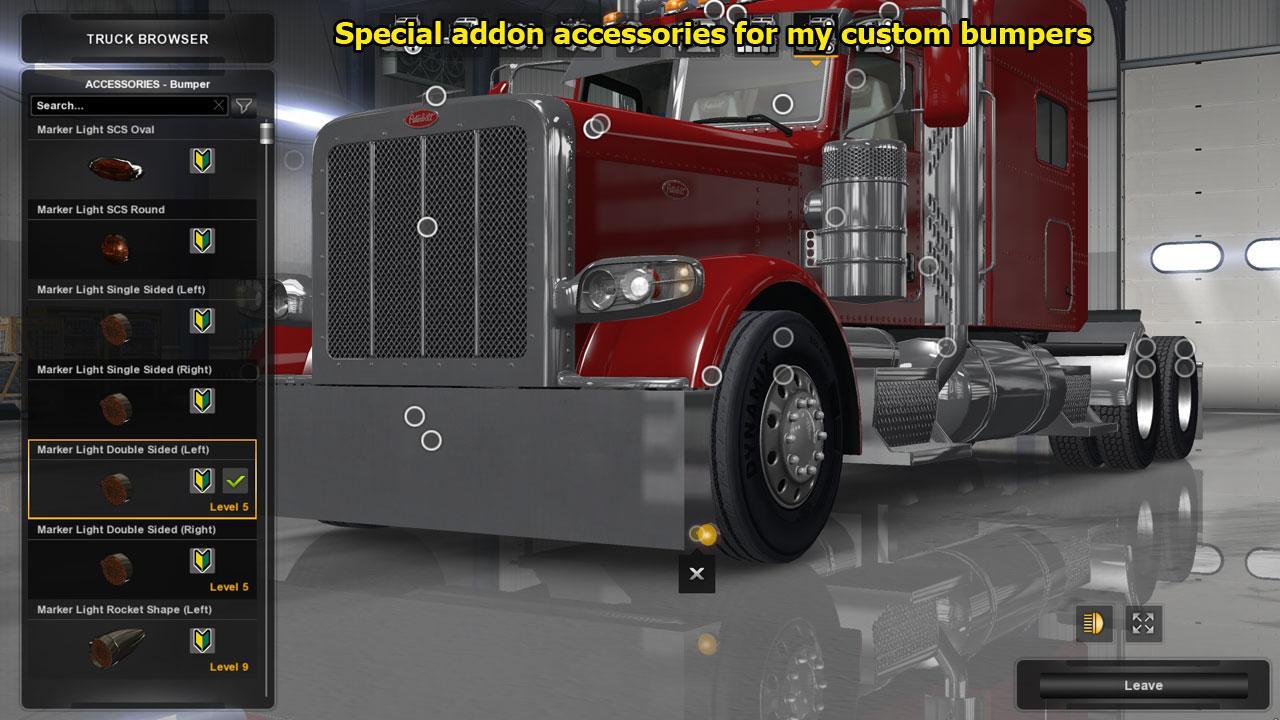 Peterbilt 389 Accessories Pack 1 29 Mod Euro Truck