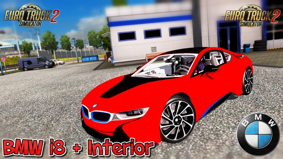 Bmw I8 Interior V3 0 Updated 1 30 X Car Mod Euro Truck