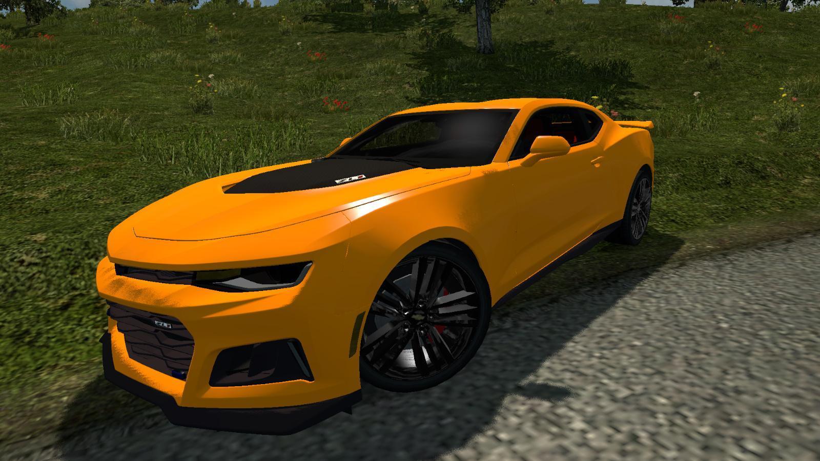 Chevrolet Camaro Edit Car Mod Euro Truck Simulator 2 Mods