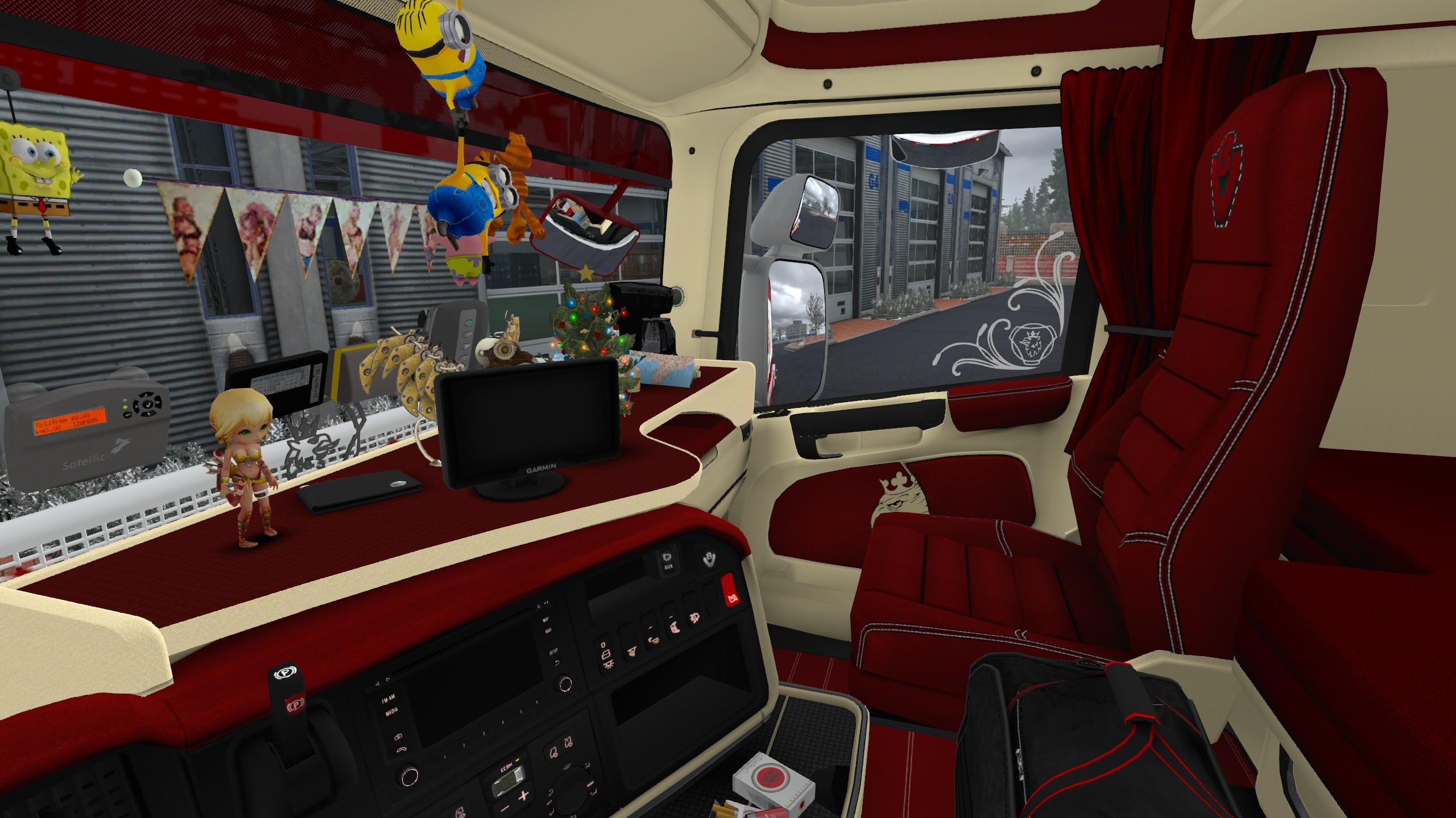 Custom Interior Skin For Rjl Scania R 1 30 Ets2 Euro