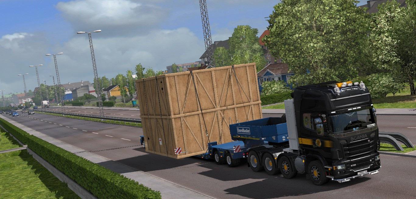 free driving addon for special transport dlc beta ets2. Black Bedroom Furniture Sets. Home Design Ideas